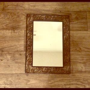 Other - NWT Cast iron mirror